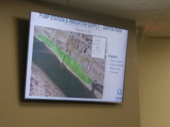 Pierre Looking To Use Missouri River Water To Irrigate Griffin Park