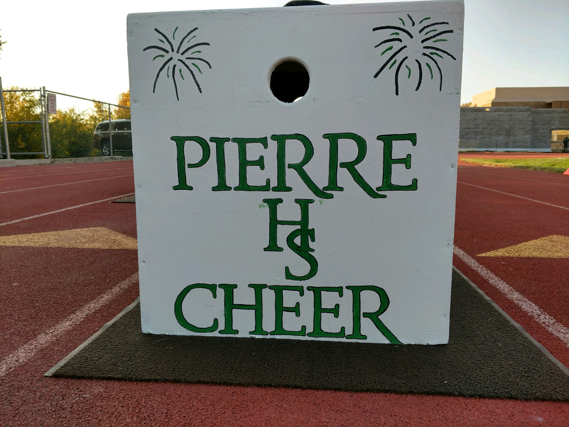 Pierre Cheer and Dance Improves on Score in Watertown