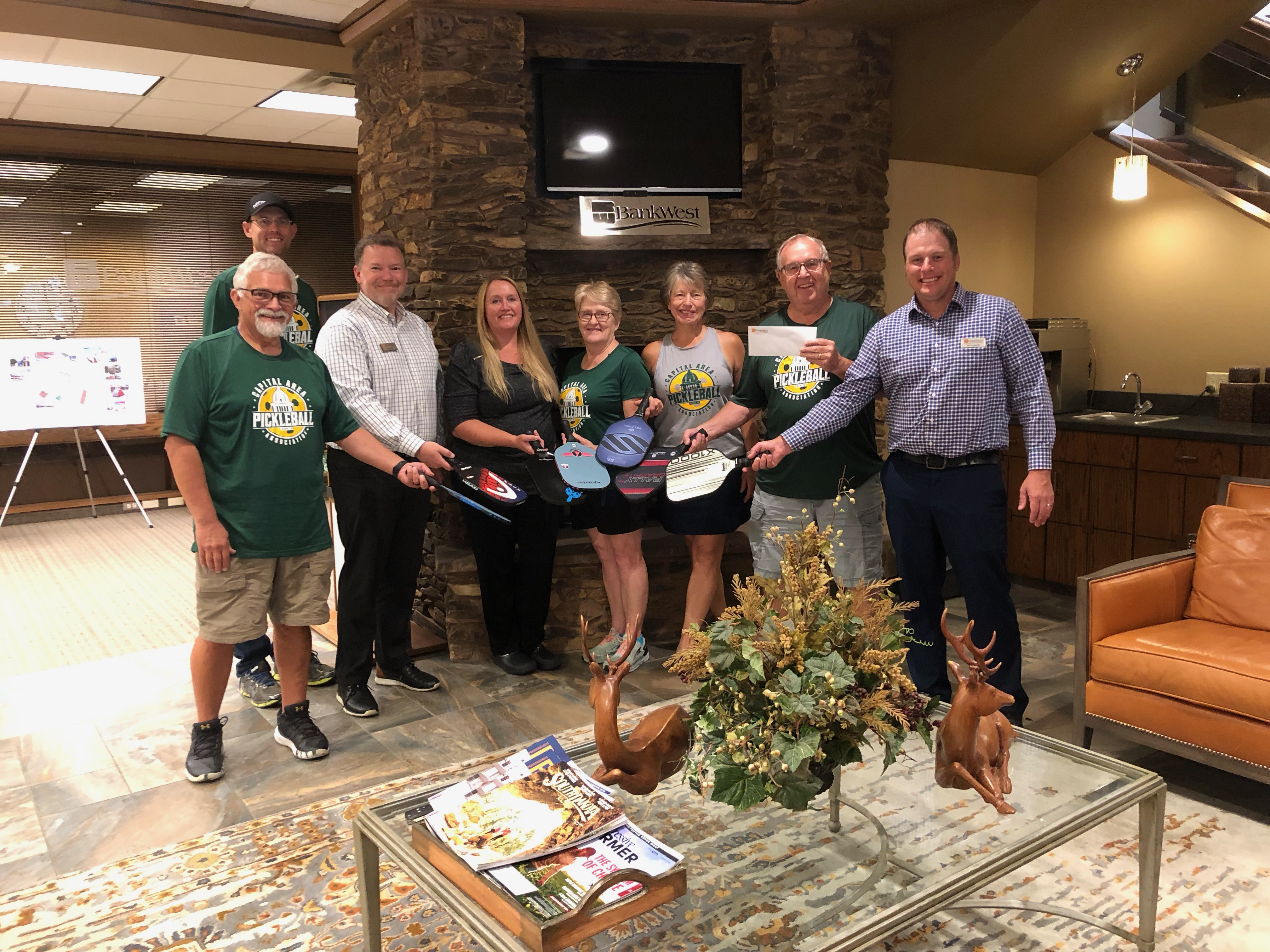 Pickleball Community Gets another Donation