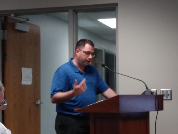 Former School Board Candidate Paul Giovanetti Asks Pierre School Board To Address Time Given For Lunches To Students