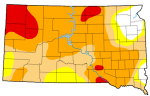 Drought Conditions In South Dakota Continue Very Slow Improvement