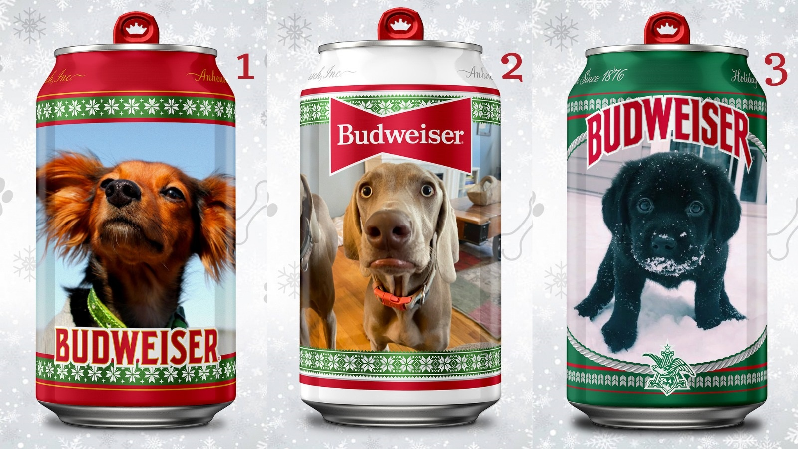 Budweiser could put a picture of your dog on its beer can
