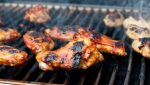 Grilled Beer and Buttermilk Chicken with Sriracha Glaze