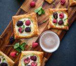 Mixed Berry Beer Breakfast Pastries