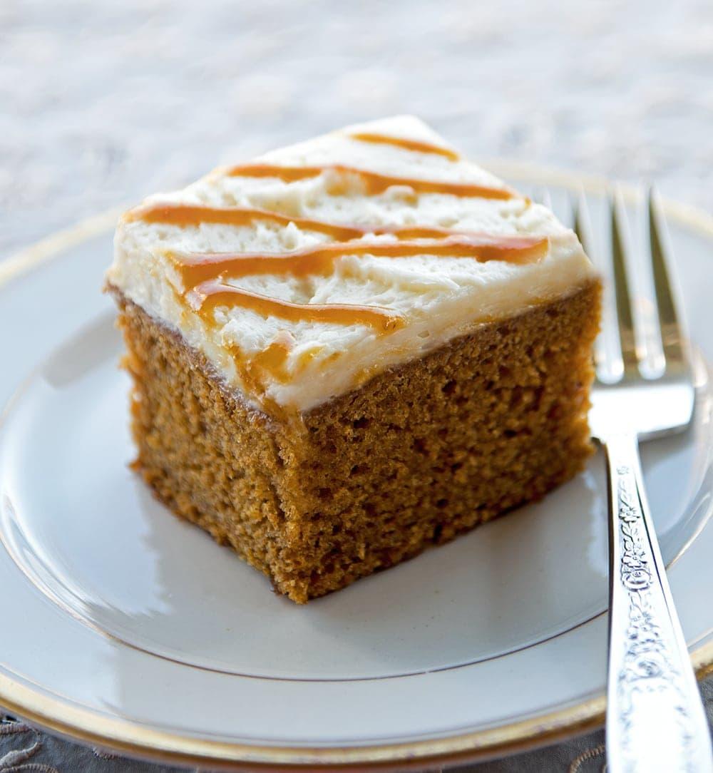 Rouge Pumpkin Patch Spice Ale Cake
