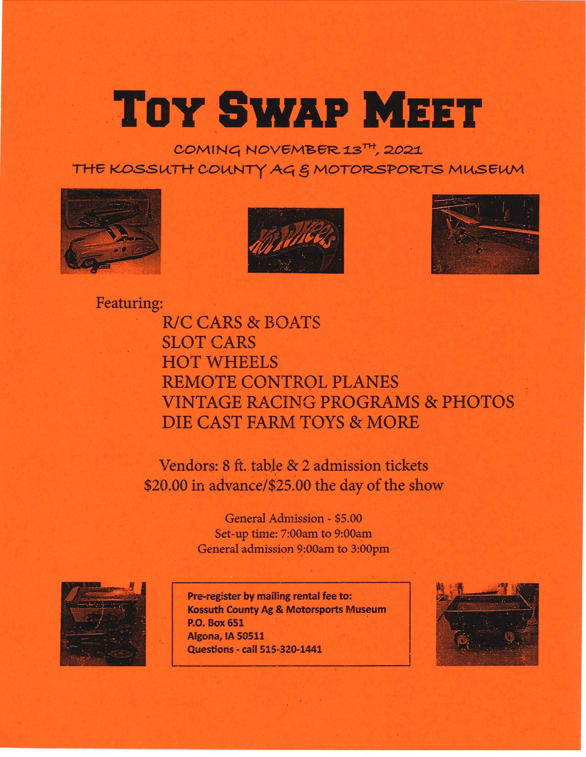 Toy Swap Meet