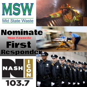 Ryan Gibson is our newest Mid State Waste First Responder of the Week