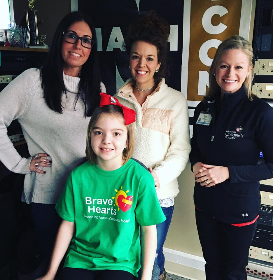 INTERVIEW: Learn about Brave Hearts and Norton Children's Hospital