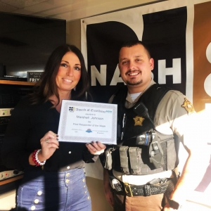 Marshall Johnson is our newest Mid State Waste First Responder of the Week
