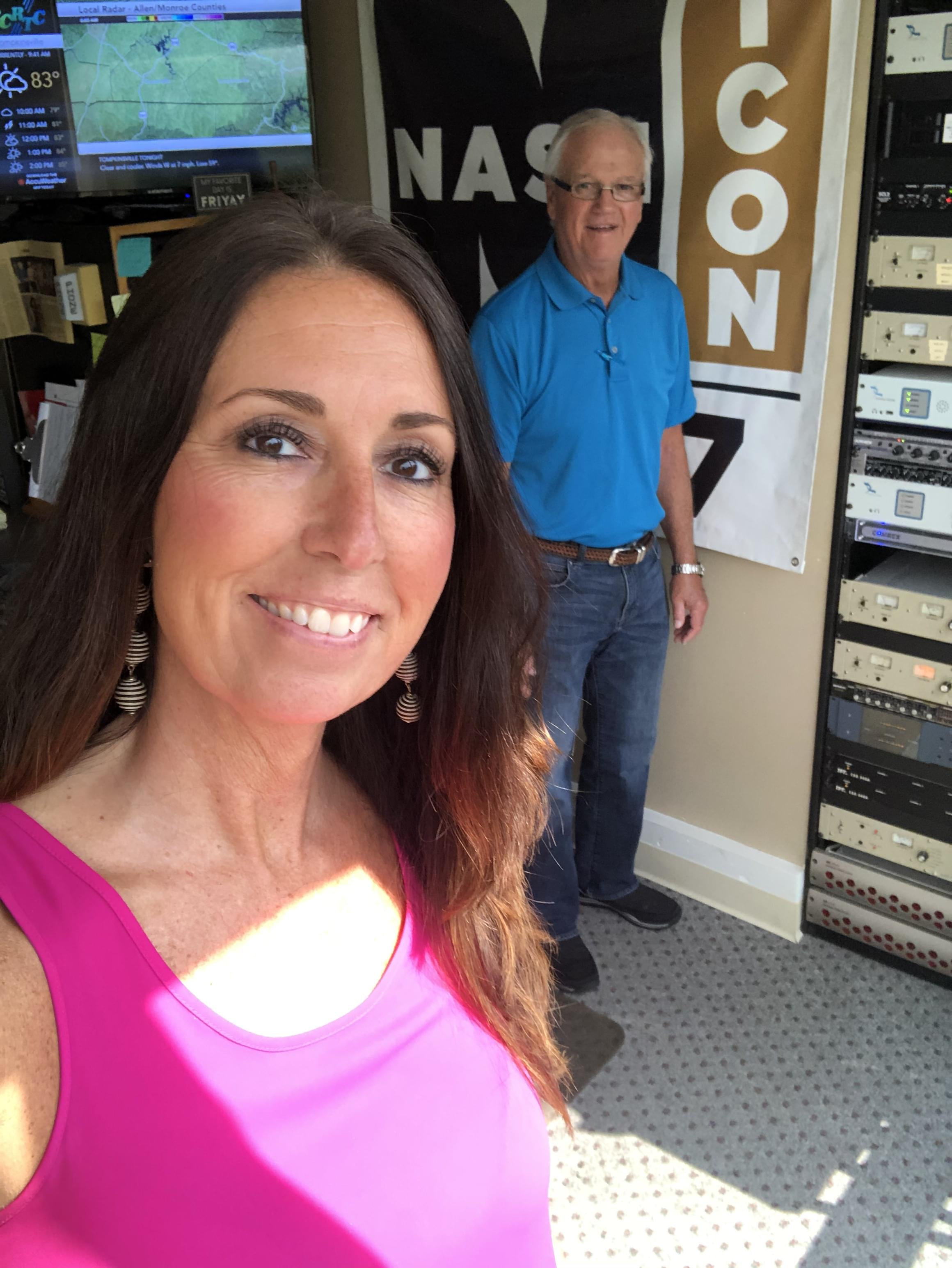 Ernie talks with Kellie McKay about Golf Tournament and more