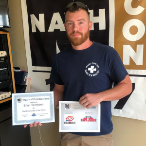 Brian Tennyson, First Responder of the Week