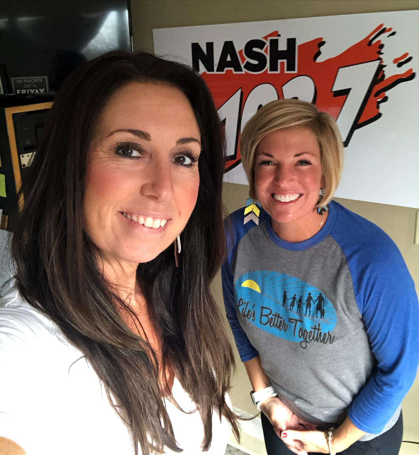 Danette with Life's Better Together stops by the studio