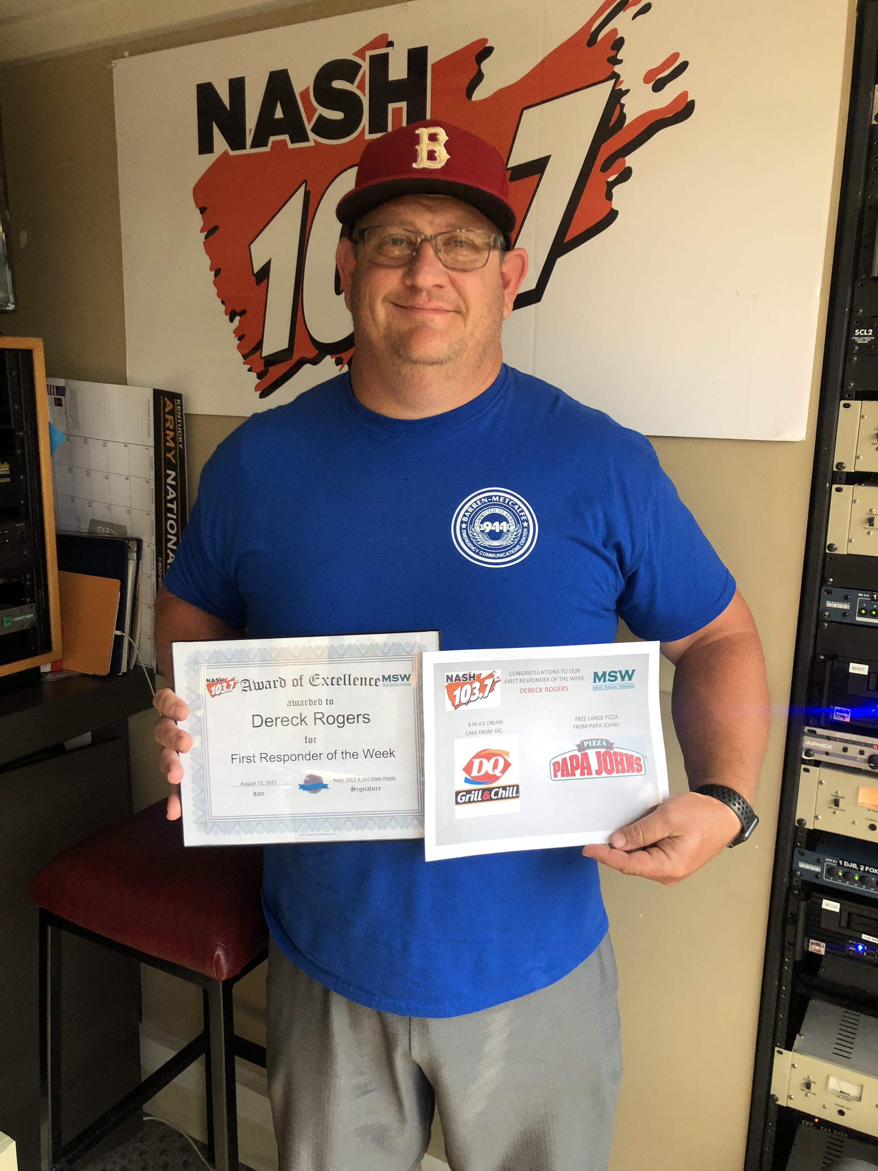 Meet Dereck Rogers, our newest First Responder of the Week
