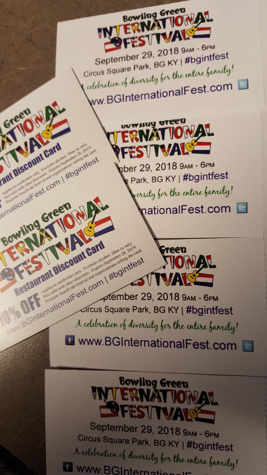 Enter for a chance to win International Festival tickets