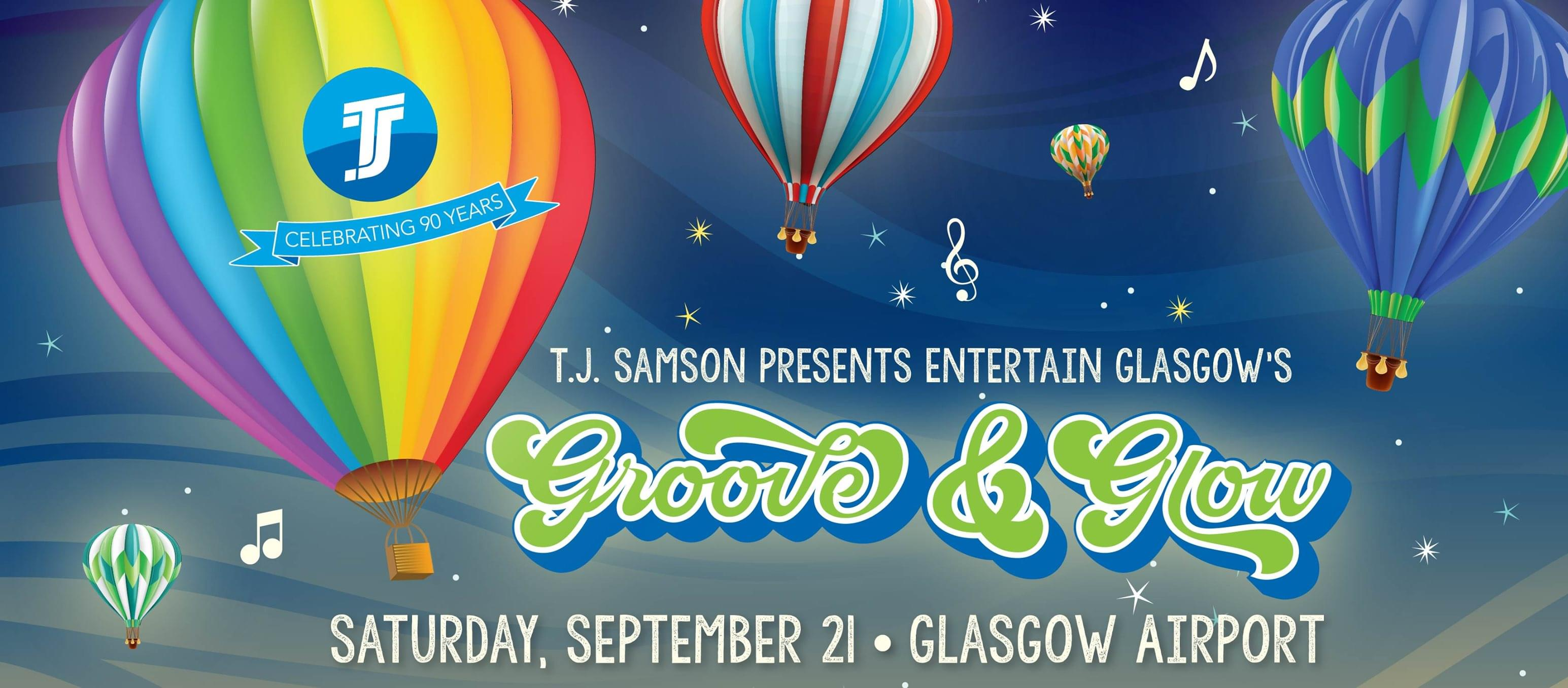 Whitney talks about Groove & Glow in Glasgow