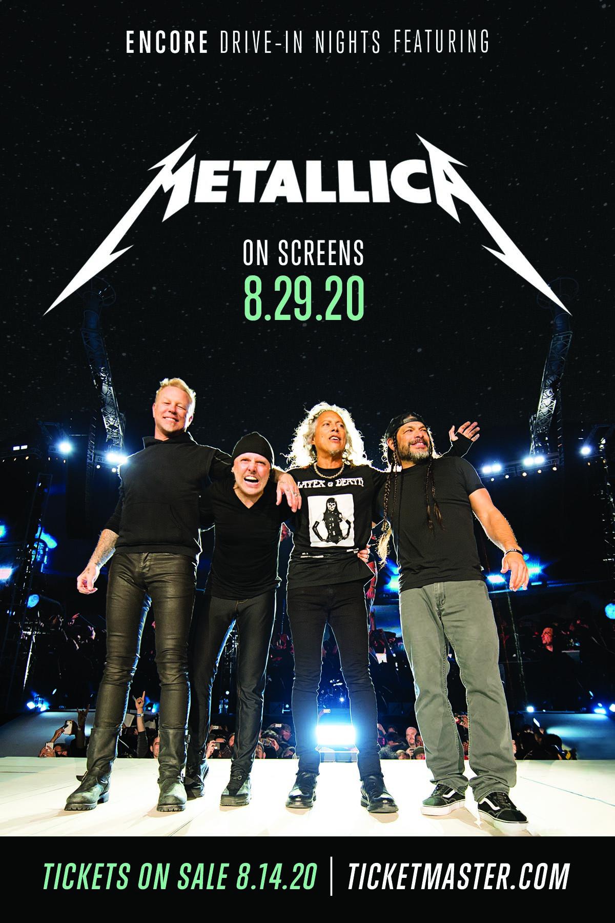 Metallica Drive-In Contest