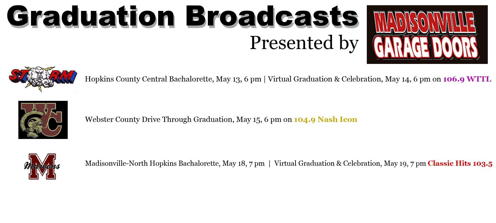 Graduation Broadcasts