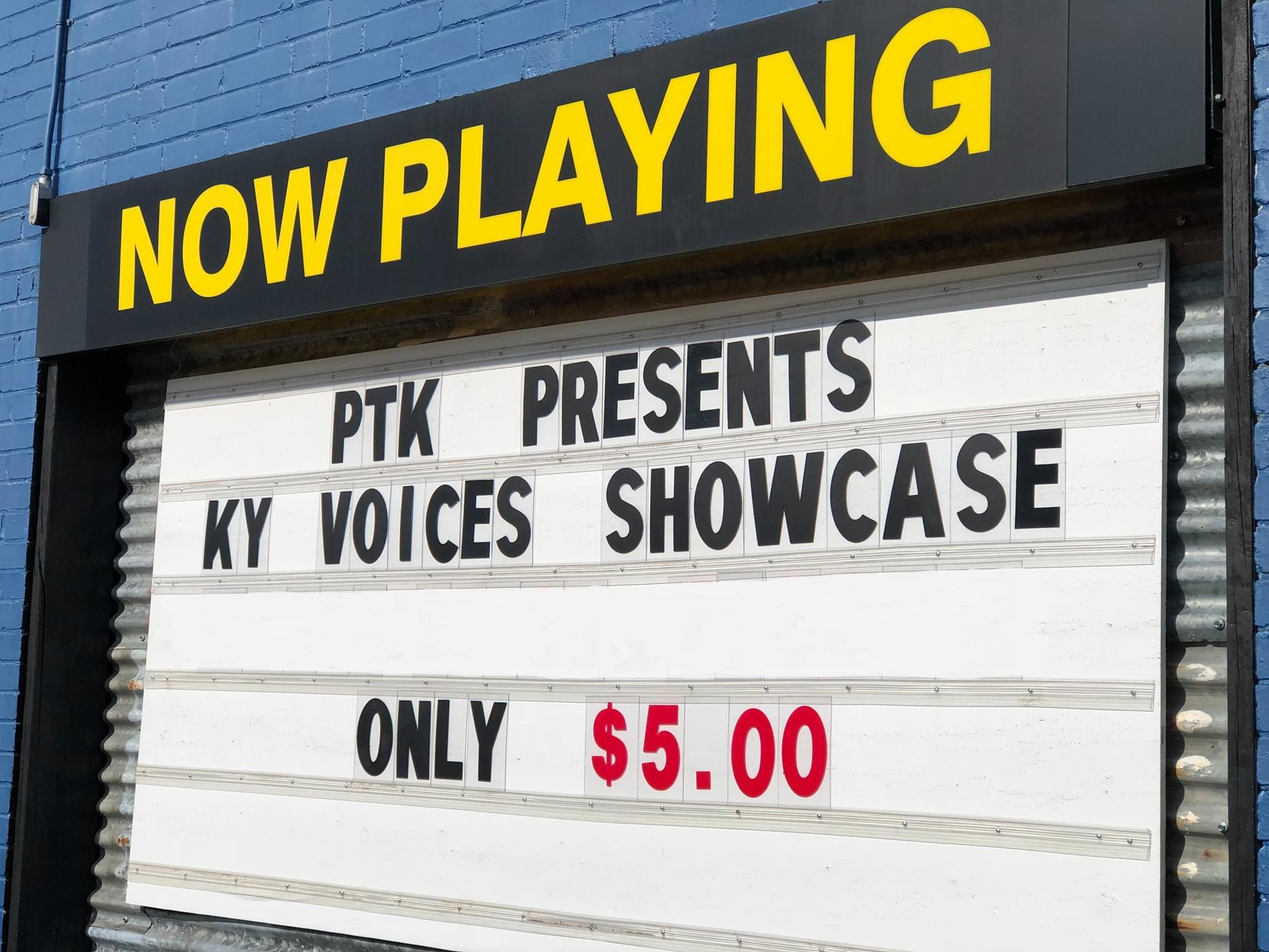 Public Theatre offers Kentucky Voices performance