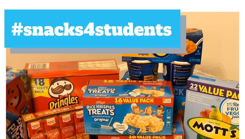 Life's Better Together, WOVO collect Snacks 4 Students