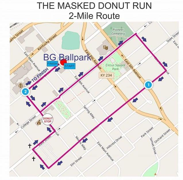 BG 26.2 offers the Masked Donut Run