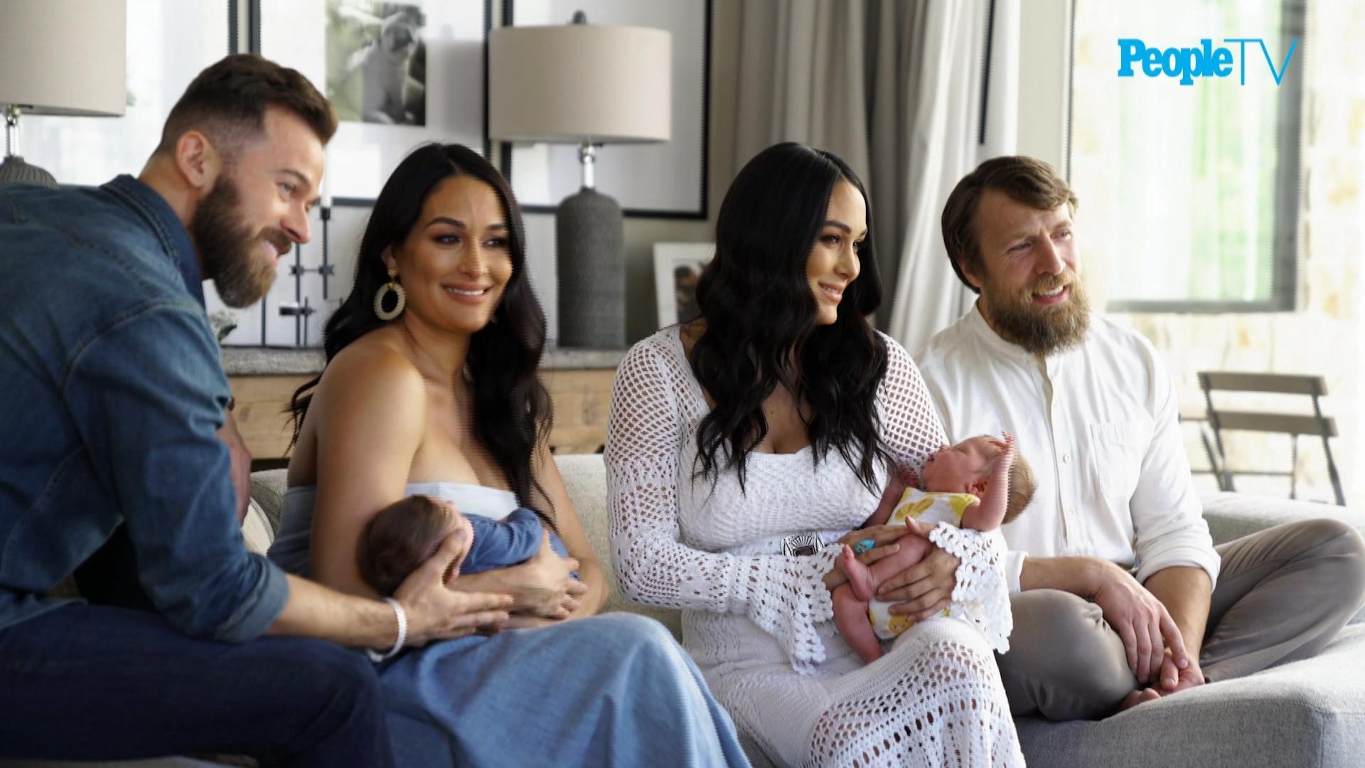 Nikki And Brie Bella Introduce Us To Their Babies