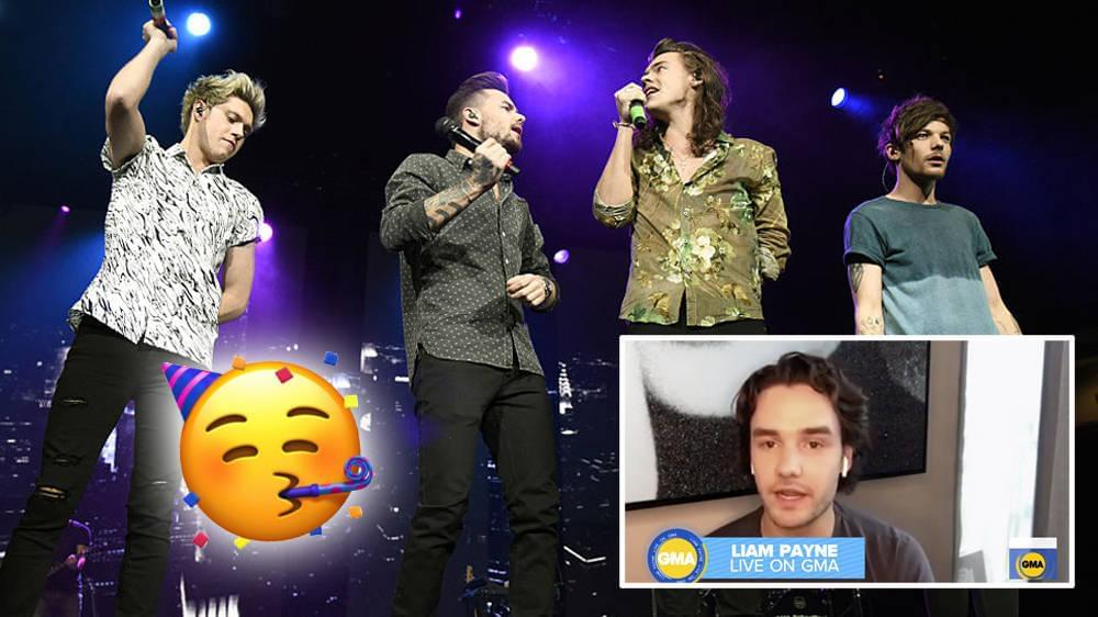Liam Payne Got Birthday Wishes From One Direction Groupmates