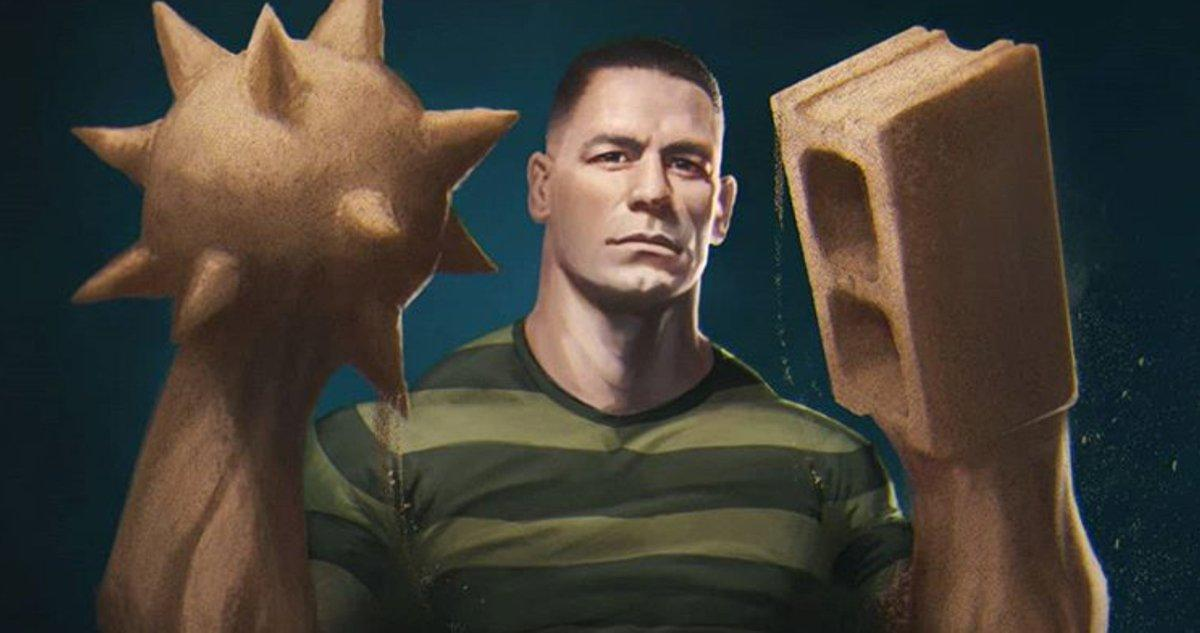Is John Cena Playing Sandman in Upcoming Spider-Man Movie?