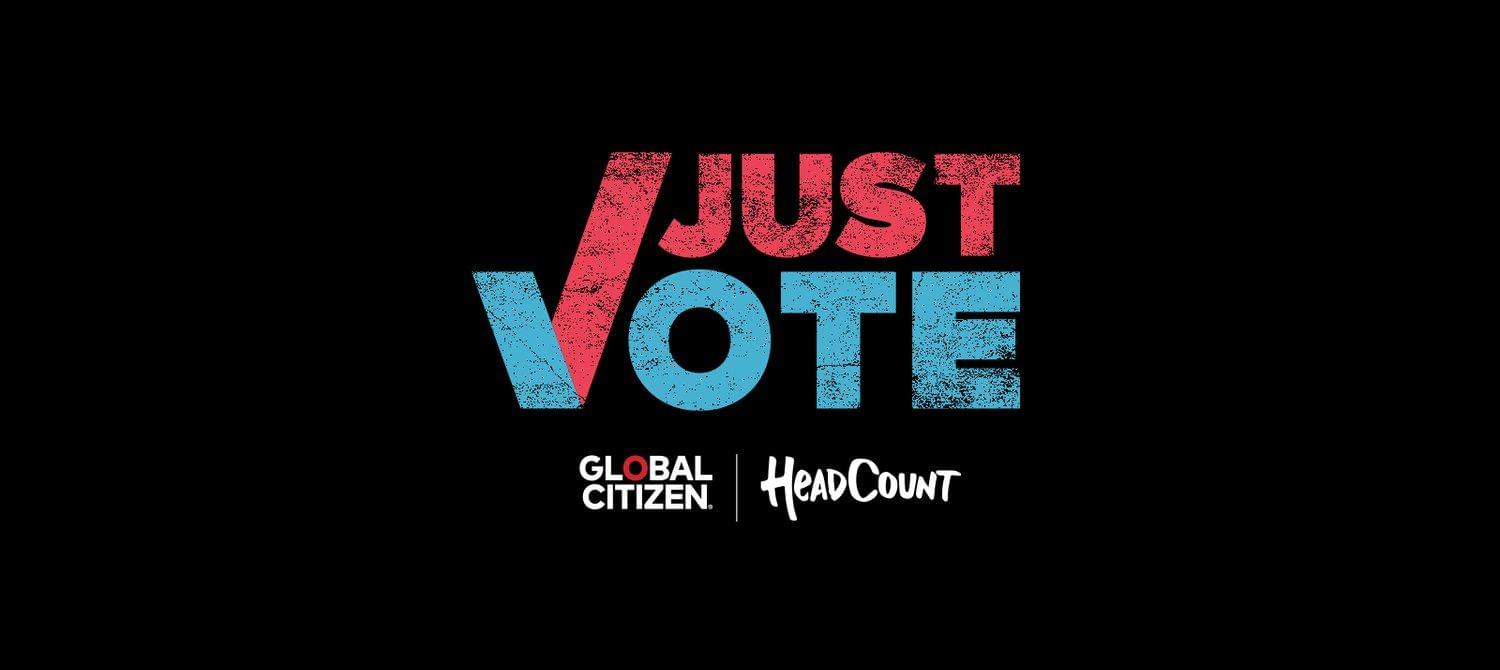 """Artists Join """"Just Vote"""" Campaign"""