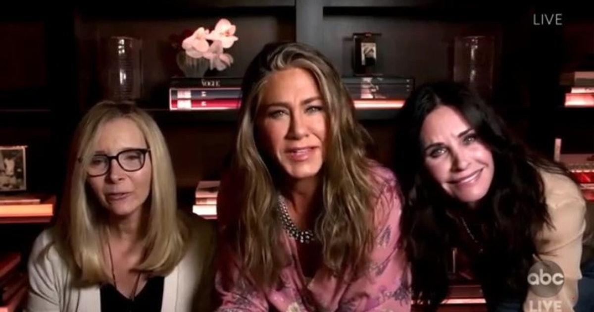 'Friends' Cast Reunites at Emmys