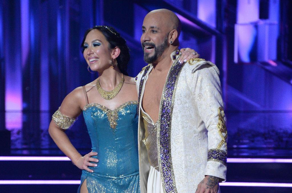 """AJ McLean Gets a Little Help From BSB For His """"Larger Than Life"""" Performance on DWTS"""