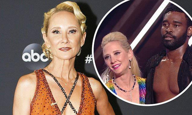 Anne Heche Storms Off 'DWTS' Set