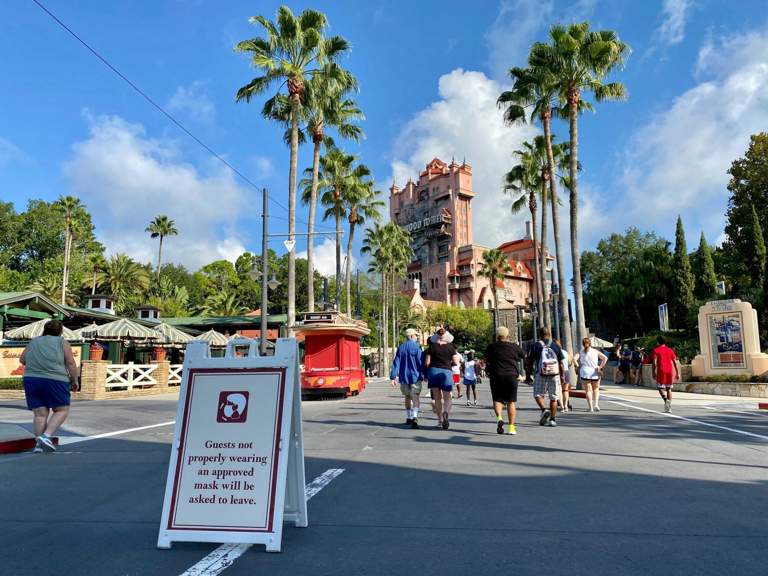 Disney Asks Guests To Comeback Another Time If They Can't Follow Mask Rules