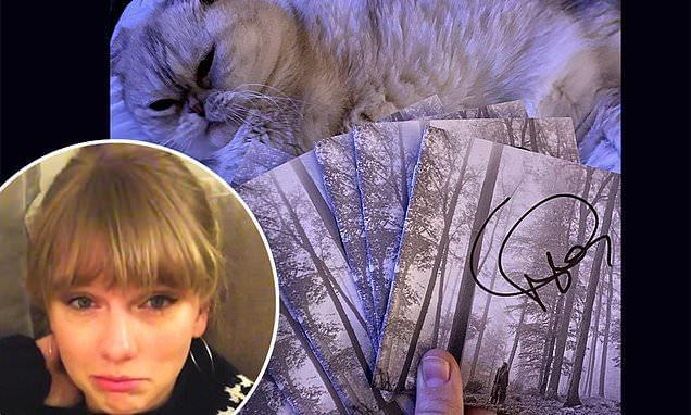 Taylor Swift Is Selling Signed 'Folklore' CDs & They May Come with Something Unexpected!