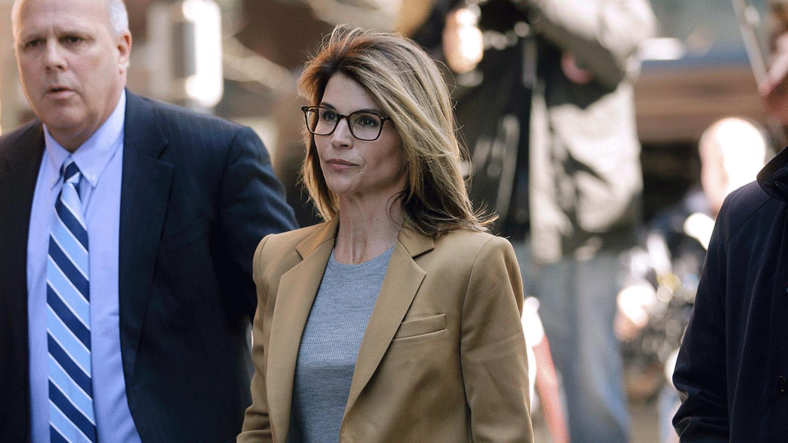 Lori Loughlin Surrenders To Serve Prison Sentence