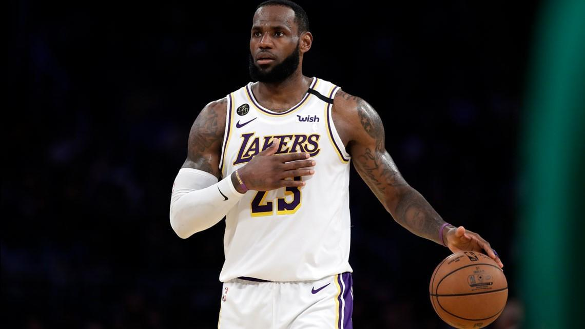 LeBron James Named Time's Athlete of the Year