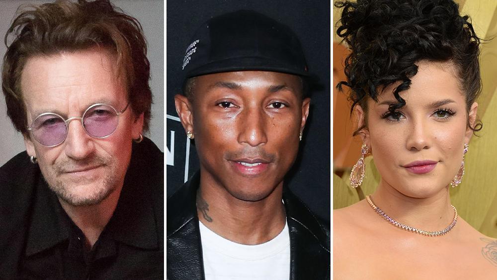 U2's Bono, Pharrell Williams, Halsey Join Illumination Entertainment/Universal Animated Film