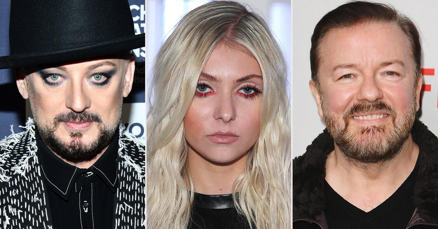Boy George, Taylor Momsen and Ricky Gervais Join Star-Studded David Bowie Tribute Concert Lineup