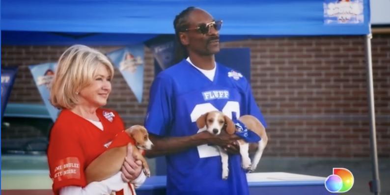 Snoop Dogg And Martha Stewart Team Up For Puppy Bowl XVII