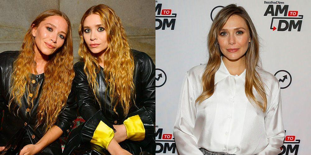 People Are Just Discovering Elizabeth Olsen Is Related To Mary-Kate And Ashley