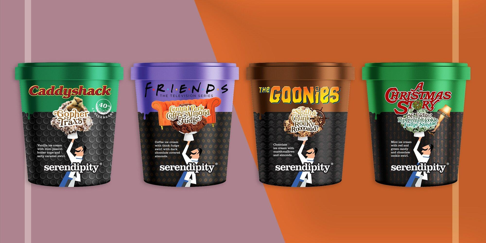 'Friends,' 'The Goonies,' and More Are Getting Their Own Ice Cream Flavors