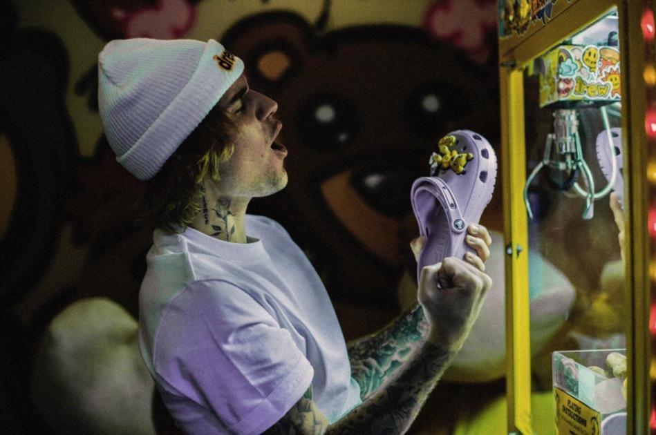 Justin Bieber Solidifies Crocs And Socks As Must-Have Fashion Pairing With Second Collaboration