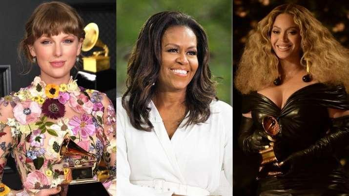 Michelle Obama Congratulates Beyonce, Taylor Swift on Historic Grammy Wins