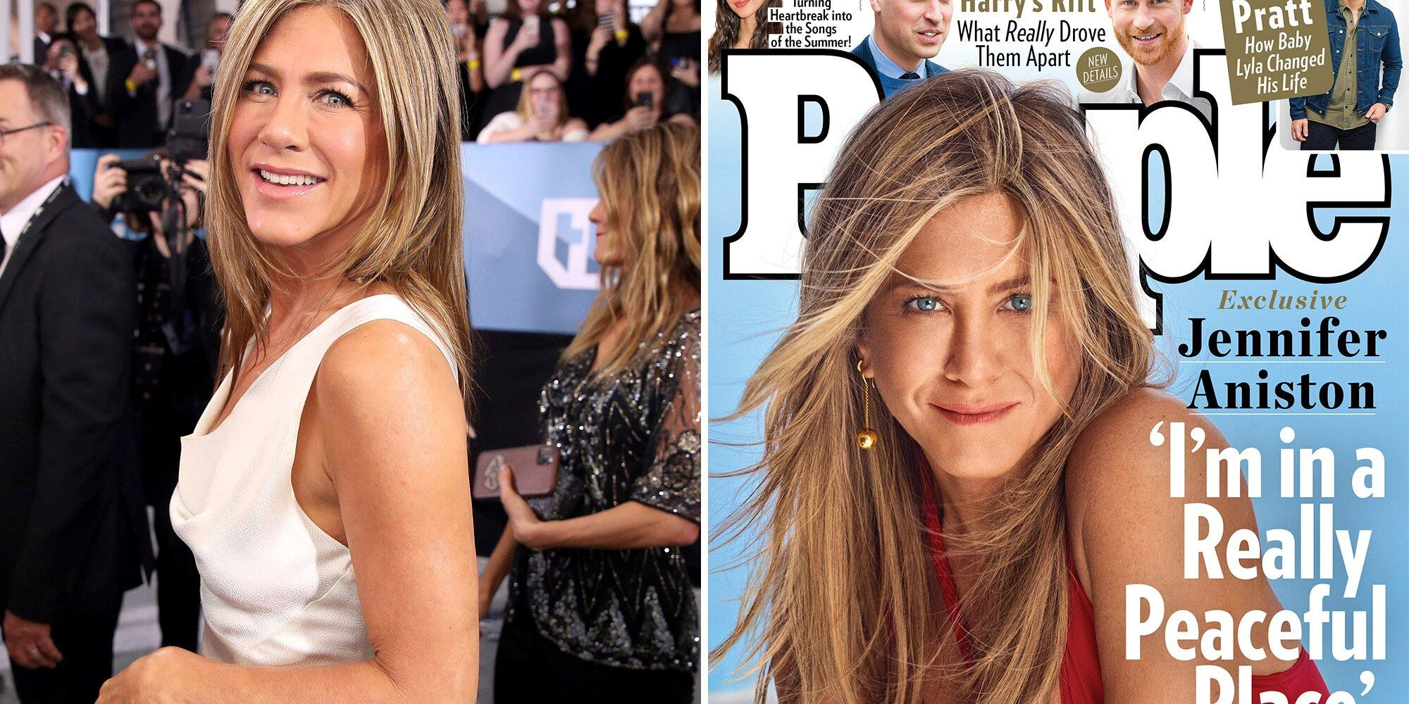 Jennifer Aniston Opens Up About Her Life Now: 'I'm in a Really Peaceful Place'