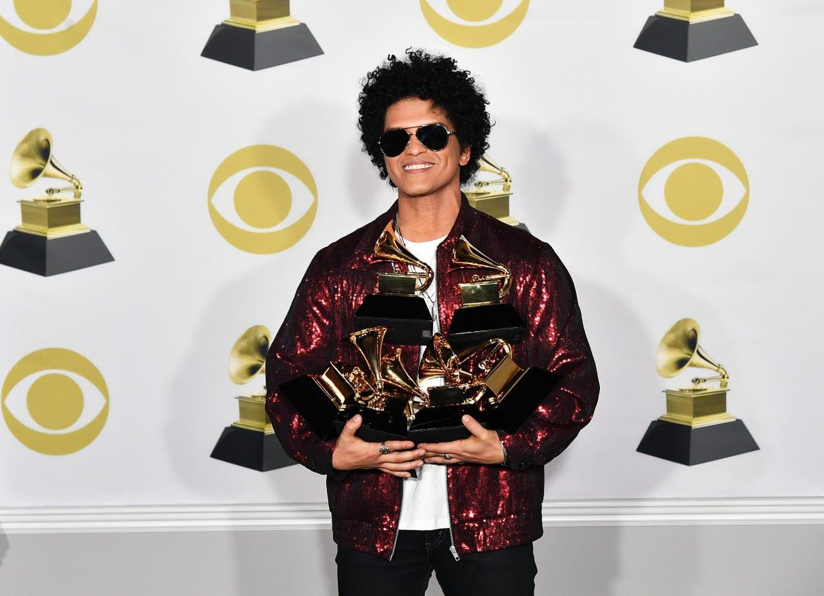 Bruno Mars Will Likely Tie One of Beyoncé's Most Impressive Grammy Records This Year