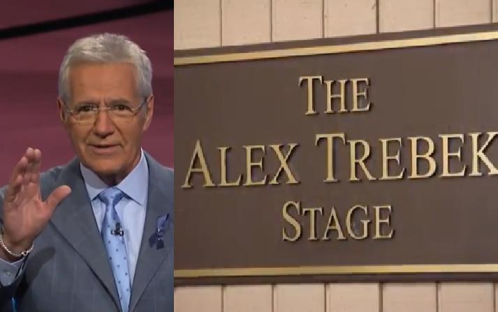 'Jeopardy' Names Iconic StageAfter Alex Trebek