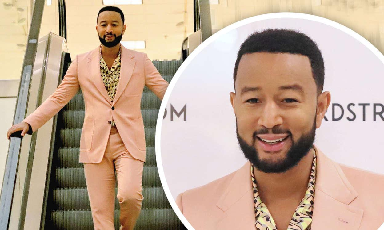 John Legend Promotes His Collaboration With Sperry In Los Angeles