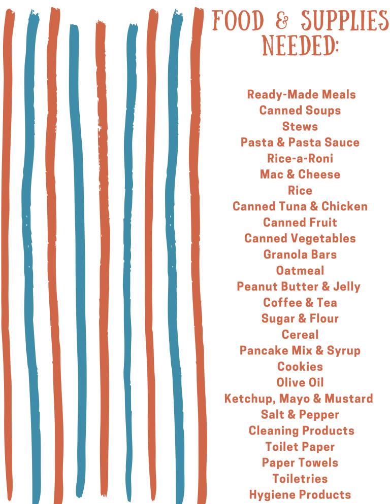 Veterans Food & Supply Drive