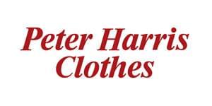 PETER HARRIS CLOTHES   LABEL SHOPPER