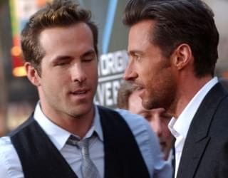 "Ryan Reynolds & Hugh Jackman Pause ""Feud"" for Coronavirus Relief"