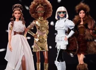 """Mattel Releases New """"Star Wars"""" Themed Collector Barbie Dolls"""
